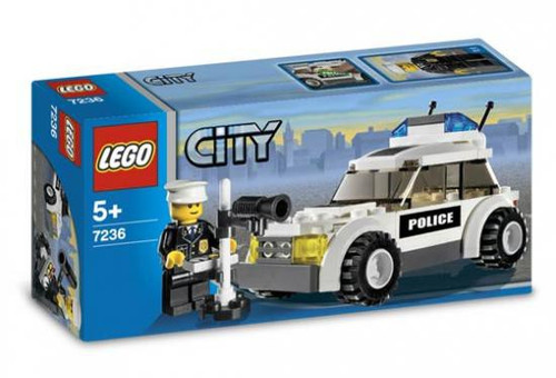 LEGO City Police Car Set #7236