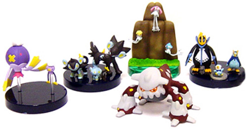Pokemon Diamond & Pearl Set of 5 Micro Evolution PVC Figures