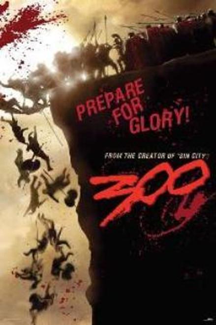 NECA 300 Prepare for Glory Movie Poster #30012