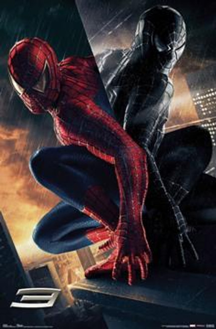 Spider-Man 3 The Villain Movie Poster #9090