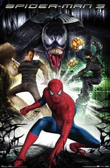 Spider-Man 3 Villains Movie Poster #90101