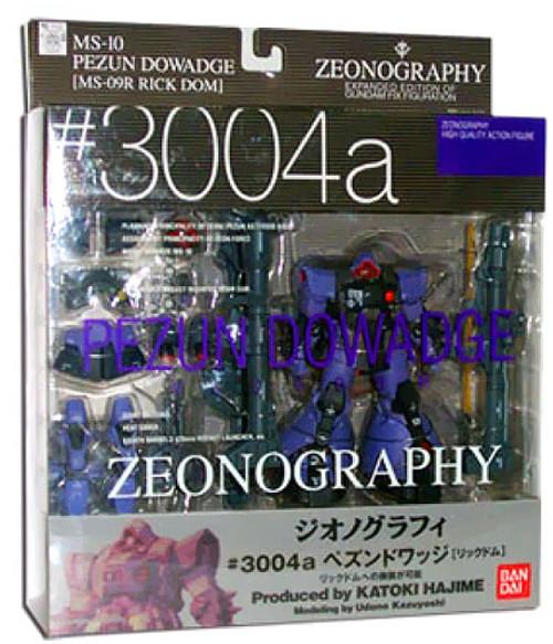 Gundam Fix Figuration Metal Composite Zeonography Pezun Dowadge Action Figure #3004a