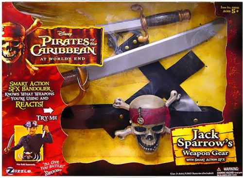 Pirates of the Caribbean At World's End Jack Sparrow's Weapon Gear Roleplay Toy