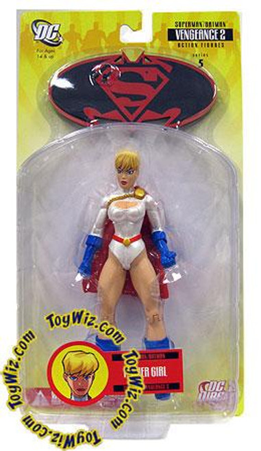 DC Superman Batman Series 5 Vengeance 2 Power Girl Action Figure