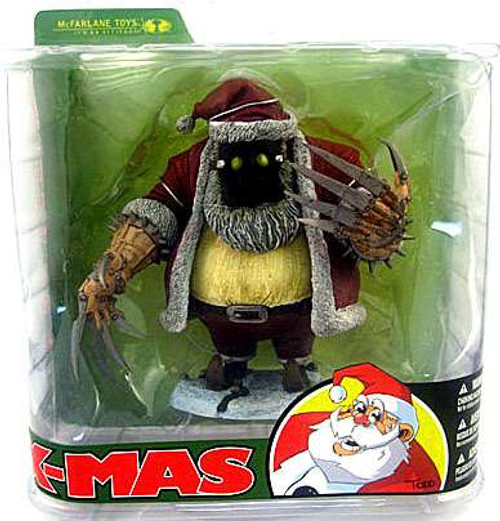McFarlane Toys McFarlane's Monsters X-Mas Santa Claus Action Figure