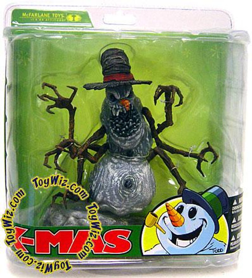 McFarlane Toys McFarlane's Monsters X-Mas Snowman Action Figure