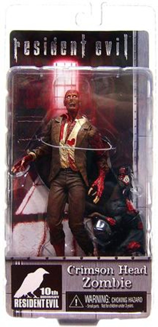 NECA Resident Evil 10th Anniversary Series 2 Crimson Head Zombie Action Figure