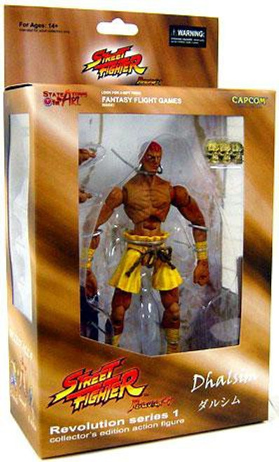 Street Fighter Revolution Series 1 Dhalsim Action Figure