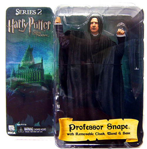 NECA Harry Potter The Order of the Phoenix Series 2 Professor Snape Action Figure