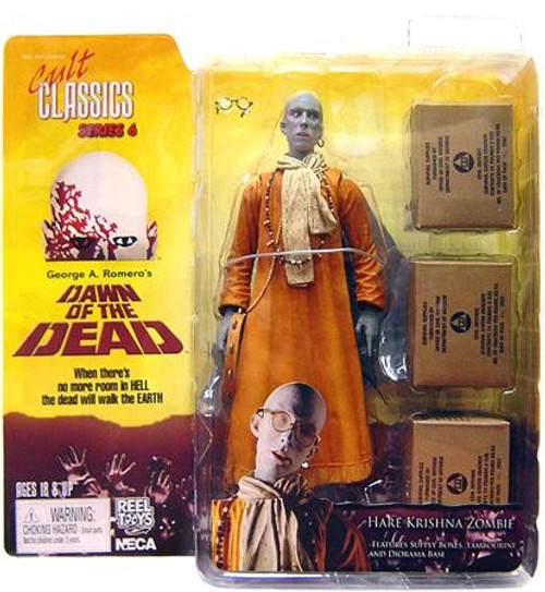 NECA Dawn of the Dead Cult Classics Series 6 Hare Krishna Zombie Action Figure