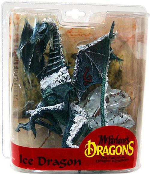 McFarlane Toys McFarlane's Dragons The Fall of the Dragon Kingdom Series 7 Ice Dragon Clan Action Figure
