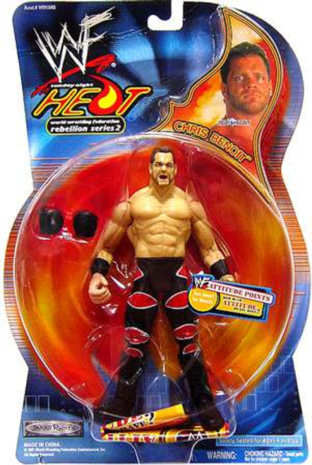 WWE Wrestling Sunday Night Heat Chris Benoit Action Figure