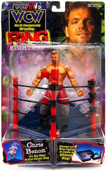 WWE Wrestling WCW Ringer Fighters Chris Benoit Action Figure