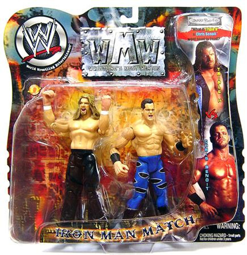 WWE Wrestling Wrestling's Most Wanted Chris Benoit Vs. Triple H Action Figure 2-Pack