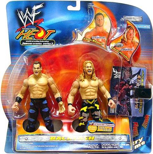 WWE Wrestling Sunday Night Heat Chris Benoit Vs. Chris Jericho Action Figure 2-Pack