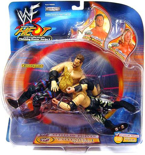 WWE Wrestling Sunday Night Heat Chris Benoit Vs. Chris Jericho Action Figure 2-Pack [Crossface Crippler]