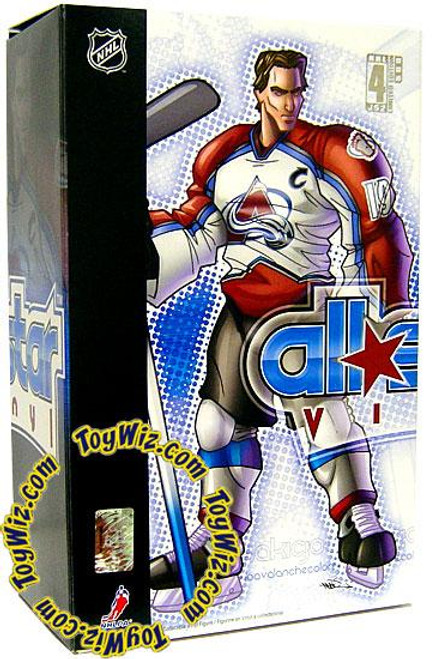 NHL Colorado Avalanche All Star Vinyl Joe Sakic Vinyl Figure [White Away Jersey]