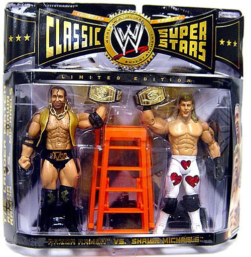 WWE Wrestling Classic Superstars Limited Editions Razor Ramon & Shawn Michaels Exclusive Action Figure 2-Pack