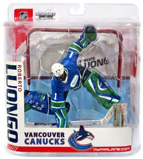 McFarlane Toys NHL Vancouver Canucks Sports Picks Series 15 Roberto Luongo Action Figure [Blue Jersey Variant]