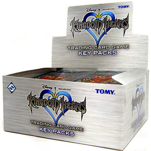 Disney Series 1 Kingdom Hearts Trading Card Game Key Box