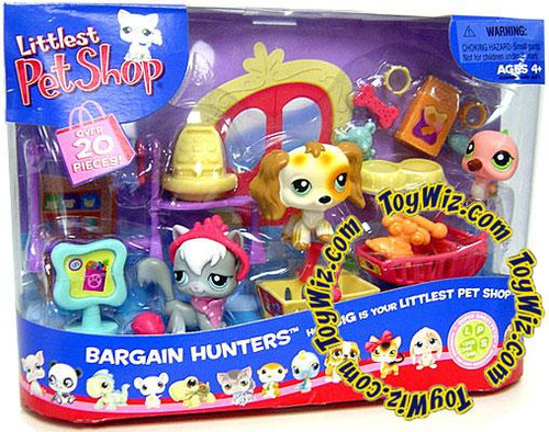 Littlest Pet Shop Bargain Hunters Playset