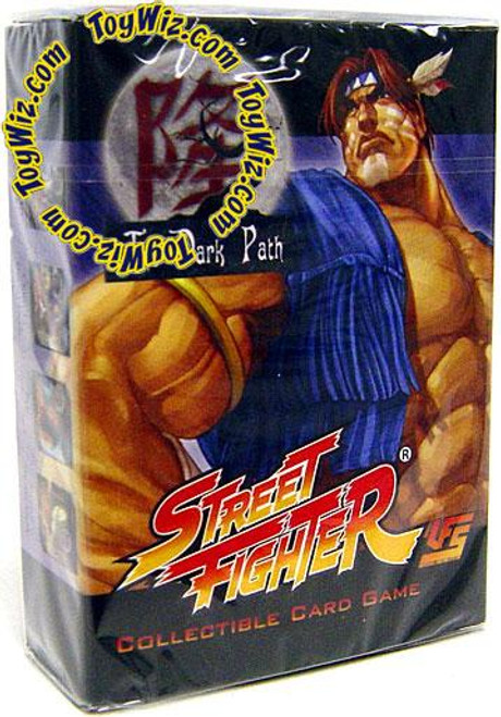 Universal Fighting System Street Fighter The Dark Path T. Hawk Starter Deck