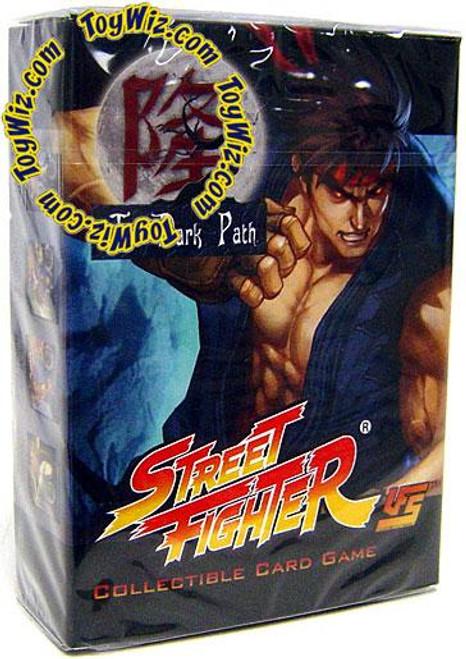 Universal Fighting System Street Fighter The Dark Path Evil Ryu Starter Deck