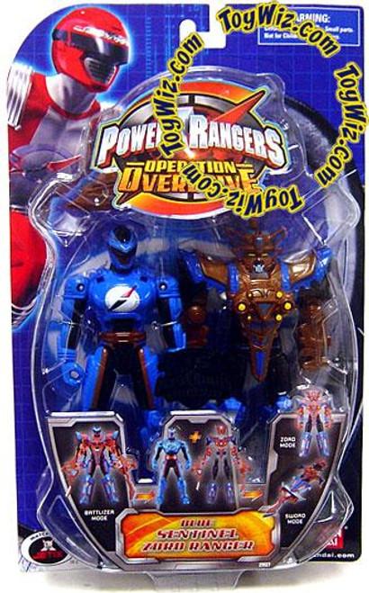 Power Rangers Operation Overdrive Blue Sentinel Zord Ranger Action Figure