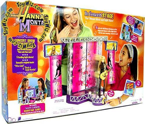 Disney Hannah Montana Hannah's Musical Concert Stage Playset