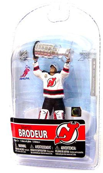 McFarlane Toys NHL New Jersey Devils Sports Picks 3 Inch Mini Series 5 Martin Brodeur Mini Figure