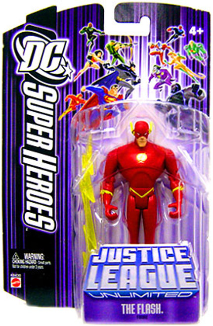 DC Justice League Unlimited Super Heroes The Flash Action Figure [Purple Card]