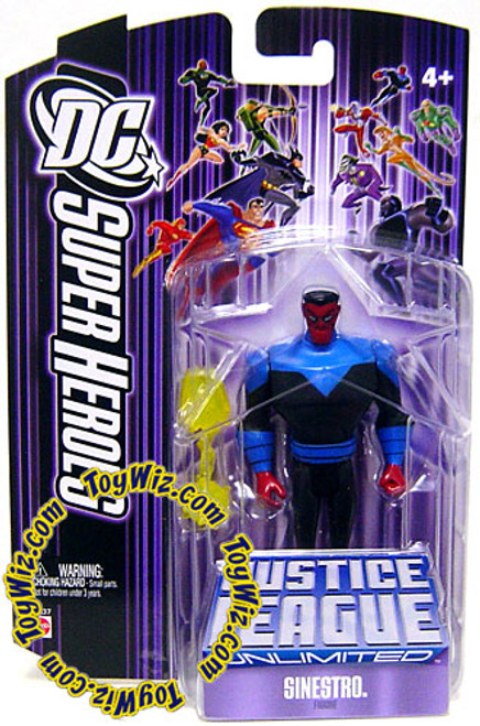 DC Justice League Unlimited Super Heroes Sinestro Action Figure