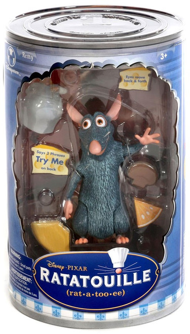 Disney / Pixar Ratatouille Talking Figures Remy Exclusive Action Figure
