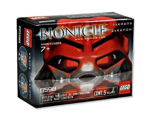 LEGO Bionicle Krana & Kanchi Masks Set #8598