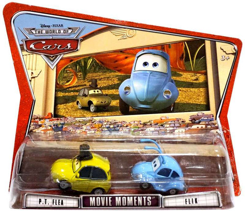 Disney Cars The World of Cars Movie Moments Flik & PT Flea Diecast Car 2-Pack