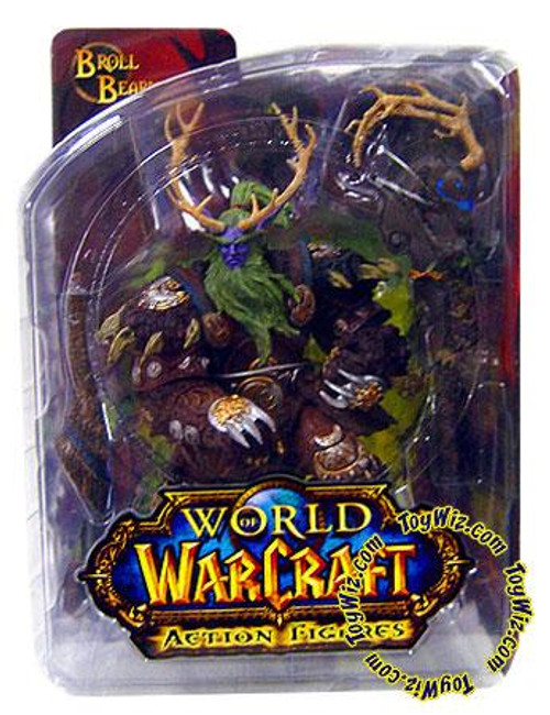 World of Warcraft Series 2 Broll Bearmantle Action Figure [Night Elf Druid]