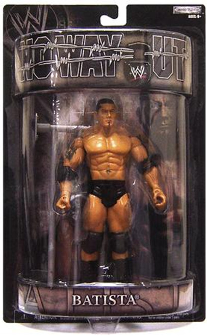 WWE Wrestling Pay Per View Series 15 No Way Out Batista Action Figure
