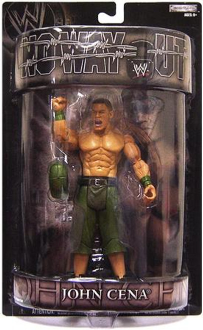 WWE Wrestling Pay Per View Series 15 No Way Out John Cena Action Figure