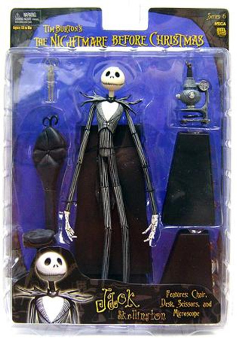 NECA The Nightmare Before Christmas Series 6 Jack Skellington Action Figure [Experiment]