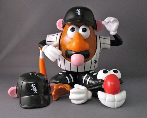 MLB Sports Spuds Chicago White Sox Mr. Potato Head [Damaged Package]