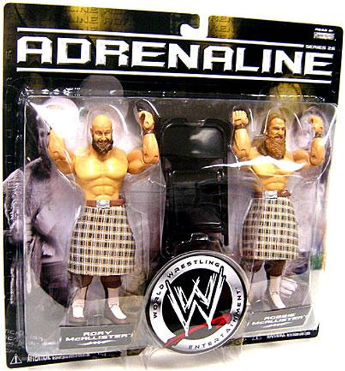 WWE Wrestling Adrenaline Series 26 Robbie & Rory McAllister Action Figure 2-Pack