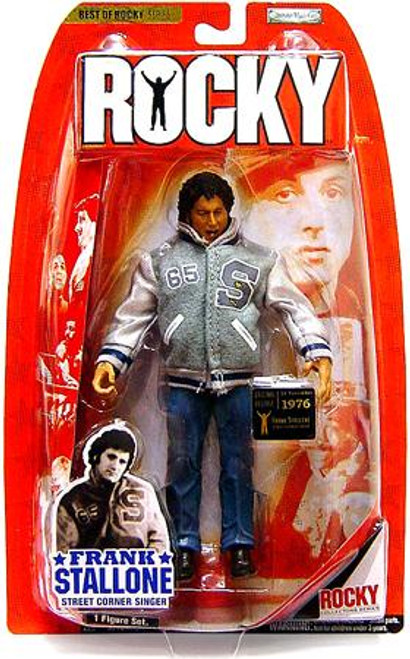 Best of Rocky Series 1 Frank Stallone Action Figure [Street Corner Singer]