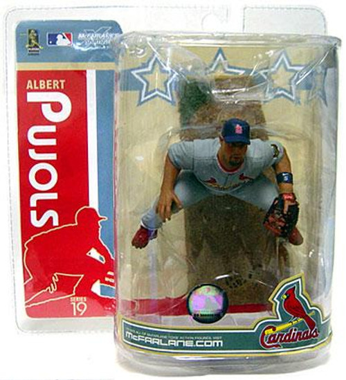 McFarlane Toys MLB St. Louis Cardinals Sports Picks Series 19 Albert Pujols Action Figure [Gray Jersey Variant]