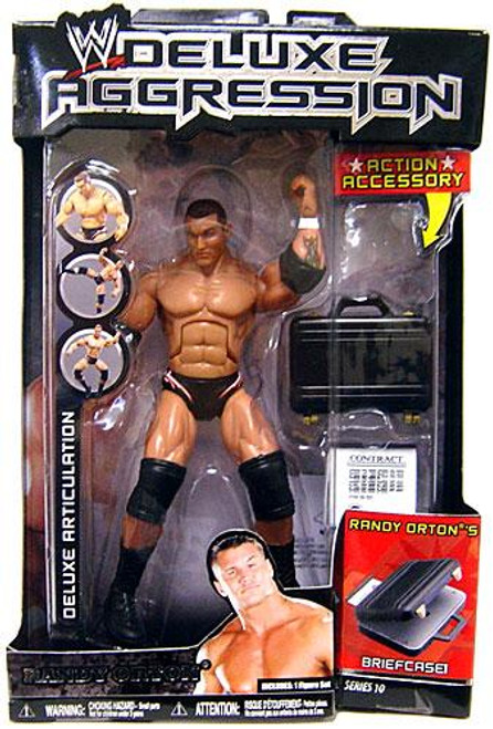 WWE Wrestling Deluxe Aggression Series 10 Randy Orton Action Figure