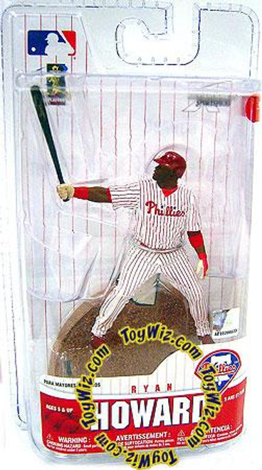 McFarlane Toys MLB Philadelphia Phillies Sports Picks 3 Inch Mini Series 6 Ryan Howard Mini Figure