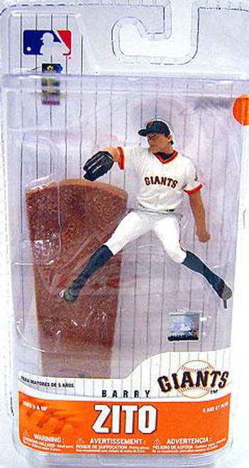 McFarlane Toys MLB San Francisco Giants Sports Picks 3 Inch Mini Series 6 Barry Zito Mini Figure