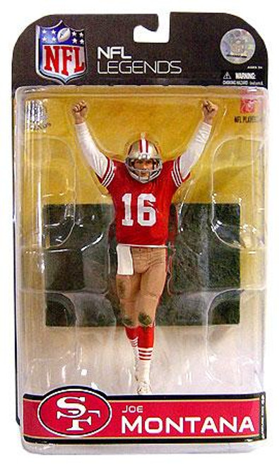 McFarlane Toys NFL San Francisco 49ers Sports Picks Legends Series 4 Joe Montana Action Figure [Dirty Uniform]