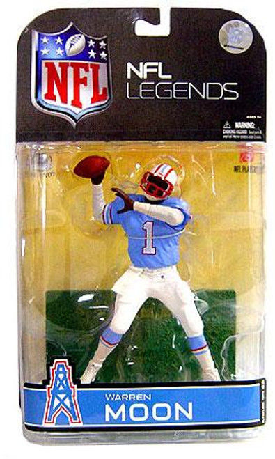 McFarlane Toys NFL Houston Oilers Sports Picks Legends Series 4 Warren Moon Action Figure [White Sleeves]