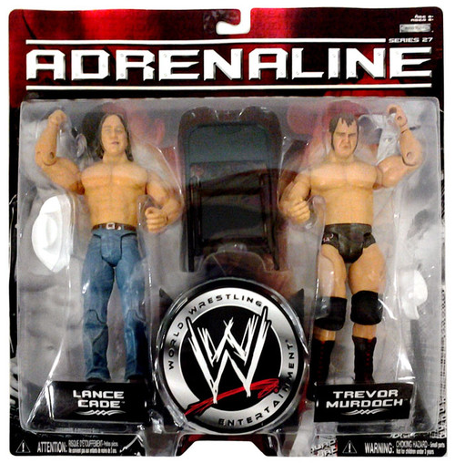 WWE Wrestling Adrenaline Series 27 Lance Cade & Trevor Murdoch Action Figure 2-Pack
