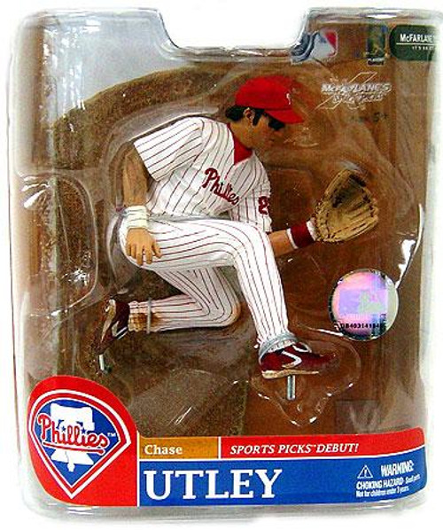 McFarlane Toys MLB Philadelphia Phillies Sports Picks Series 20 Exclusive Chase Utley Exclusive Action Figure